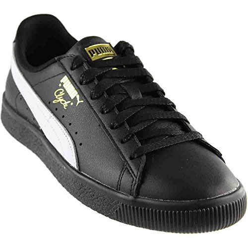 Clyde D Select M White Sneakers Black Men's 10 US Gold PUMA wEPx8qRdx
