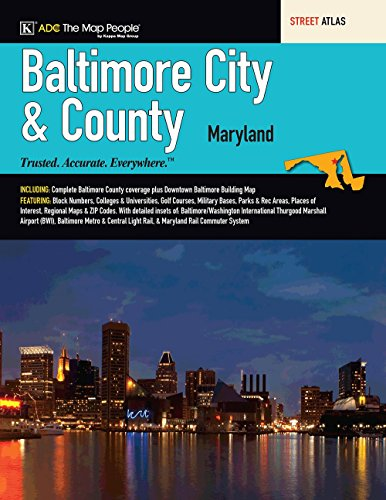 Baltimore, Maryland City & County Street ()