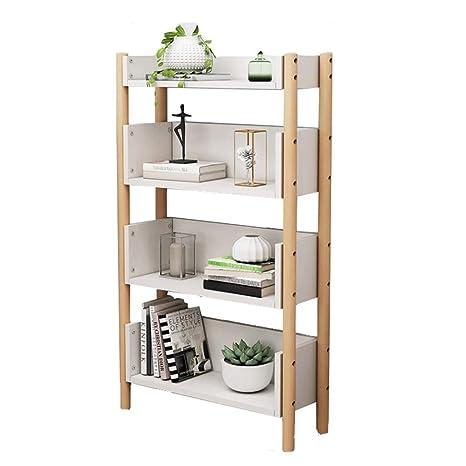 Amazon Com Jiji Bookcases Simple Bookshelf Floor Standing