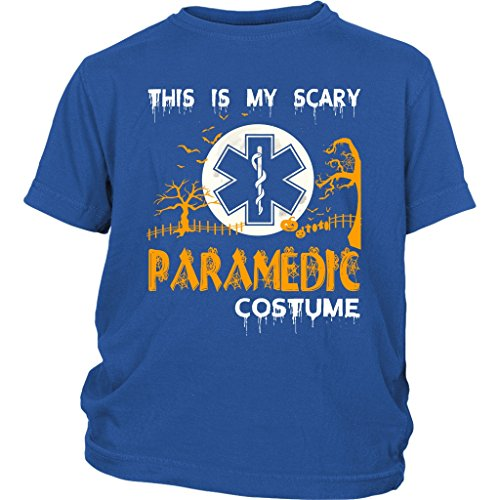 ORESTORE Paramedic Costume Baby Bodysuit, Scary Halloween Costume T Shirt (L, Youth Tee - (Baby Paramedic Costume)