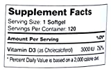 Zahler Vitamin D3 (Cholecalciferol) 3,000IU, An All-Natural Supplement Supporting Bone Muscle Teeth and Immune System , #1 Best Top Quality Vitamin D3 with High Absorption, Advanced Formula Targeting Vitamin D Deficiencies, Certified Kosher - 51B0G TS1IL - Zahler Vitamin D3 (Cholecalciferol) 3,000IU, An All-Natural Supplement Supporting Bone Muscle Teeth and Immune System , #1 Best Top Quality Vitamin D3 with High Absorption, Advanced Formula Targeting Vitamin D Deficiencies, Certified Kosher