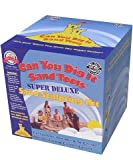 The Can You Dig It Sand Tool Super Deluxe Sand Sculpting Kit