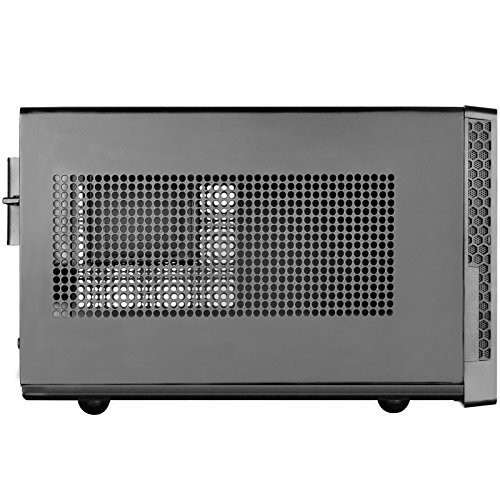 Silverstone Technology Ultra Compact Mini-ITX Computer Case with Mesh Front Panel in Black SG13B by SilverStone Technology (Image #4)