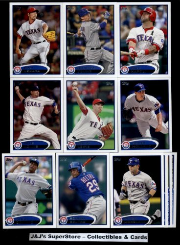 2012 Topps Texas Rangers Complete Master Team Set (Series 1,2, and Update) - 36 Cards Yu Darvish Rookie (2) plus Josh Hamilton, Dempster, Lowe, Beltre, Soto, Oswalt, Napoli, Nathan, and Andrus