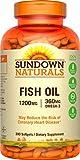 Cheap Sundown Naturals Fish Oil 1200 mg, 300 Softgels