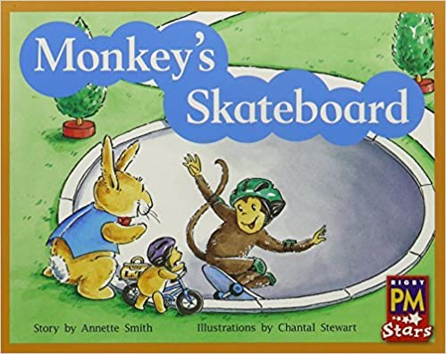 Rigby PM Stars: Leveled Reader Bookroom Package Yellow (Levels 6-8) Monkey's Skateboard by RIGBY (2012-10-03)
