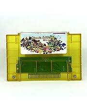Kruti Super 68 in 1 Game Cartridge Save Dk Country 1 2 3 Tales Phantasia Super Metroided Marioed BreathFire II Secret Mana Turtles
