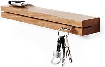 Wall Mount Key Rack Hanger Holder 3 4 5 Hook Chain Organizer Home SELL own