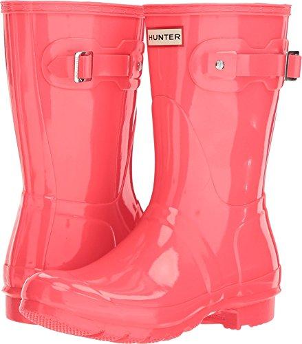 Hunter Women's Original Short Gloss Rain Boots Hyper Pink 10 M US ()