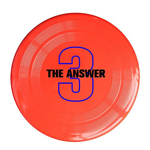 AOLM Basketball Sport Player The Answer No.3 Outdoor Game Frisbee Sport Disc Red