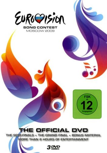 Various Artists - Eurovision Song Contest 2009 Alemania DVD: Amazon.es: Various, Freigegeben Ab 6 Jahren: Cine y Series TV