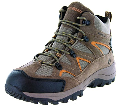 Northside Men's Snohomish Hiking Boot,Tan/Dark Honey,10 W US