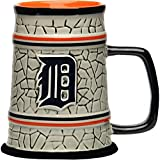 MLB Detroit Tigers Stone Stein, One Size, Multicolor