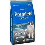 Ração Premier Ambientes Internos Para Gatos Adultos Castrados Até 7 Anos Sabor Frango - 500G Premier Pet Para Todas Todos Os