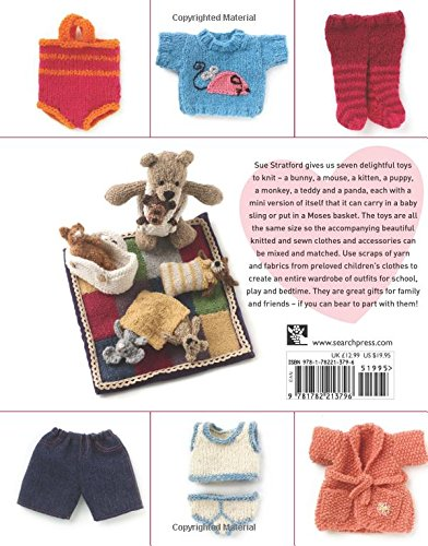 Amazon Com Knit Me Dress Me Love Me Cute Knitted Animals And