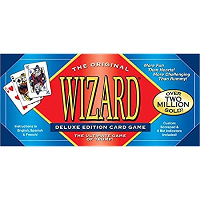 Wizard Card Game Deluxe Edition: Toys & Games