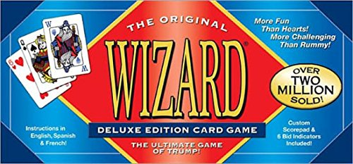 Deluxe Card Game (Wizard Card Game Deluxe Edition)