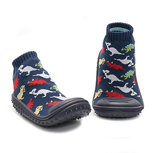 dkDaKanl Baby Indoor Outdoor Slipper Infant Soft Rubber Sole Shoes Cotton Sock Shoes Anti-Slip Shoes for Kids