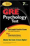 GRE Psychology (GRE Test Preparation)