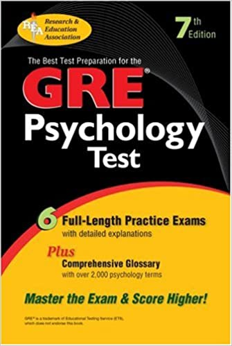 Amazon com: GRE Psychology (GRE Test Preparation) (9780878915996): R