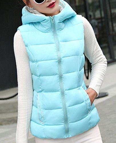 種過激派が欲しい【ベスト】レディース ダウンベスト ダウン 大人 大きいサイズ 秋服 冬服 防寒 フード付き フード シンプル 韓国 韓国ファッション