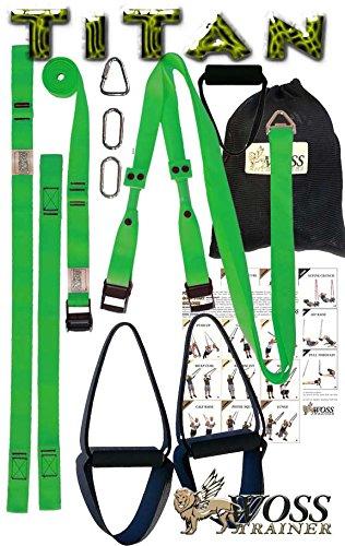 WOSS Titan, Made in USA (Neon Green)
