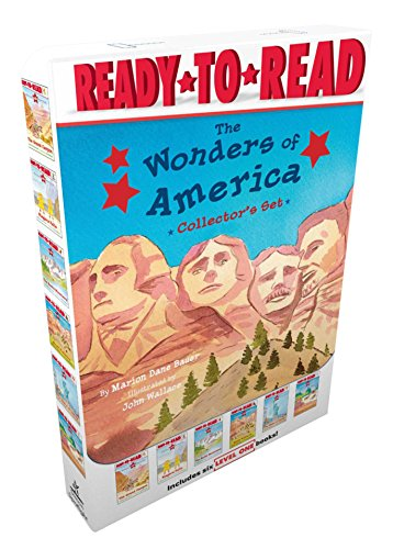 The Wonders of America Collector's Set: The Grand Canyon; Niagara Falls; The Rocky Mountains; Mount Rushmore; The Statue of Liberty; Yellowstone