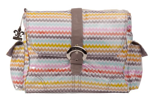 Kalencom Laminated Buckle Bag, Spa
