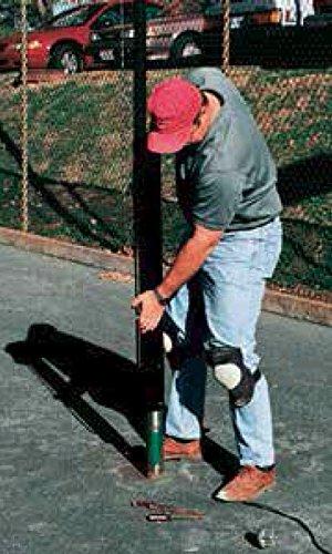 Tennis Court Net Posts - Har Tru Deluxe Internal-Wind Retrofit Post Retr ofit Post by Har-Tru