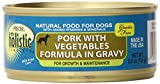 Precise 726505 24-Pack Holistic Complete Grain Free Pork Food for Pets, 5.5-Ounce