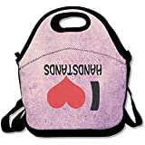 Black This is My Handstand Funny Gymnastics Lunch Bags for Man and Woman