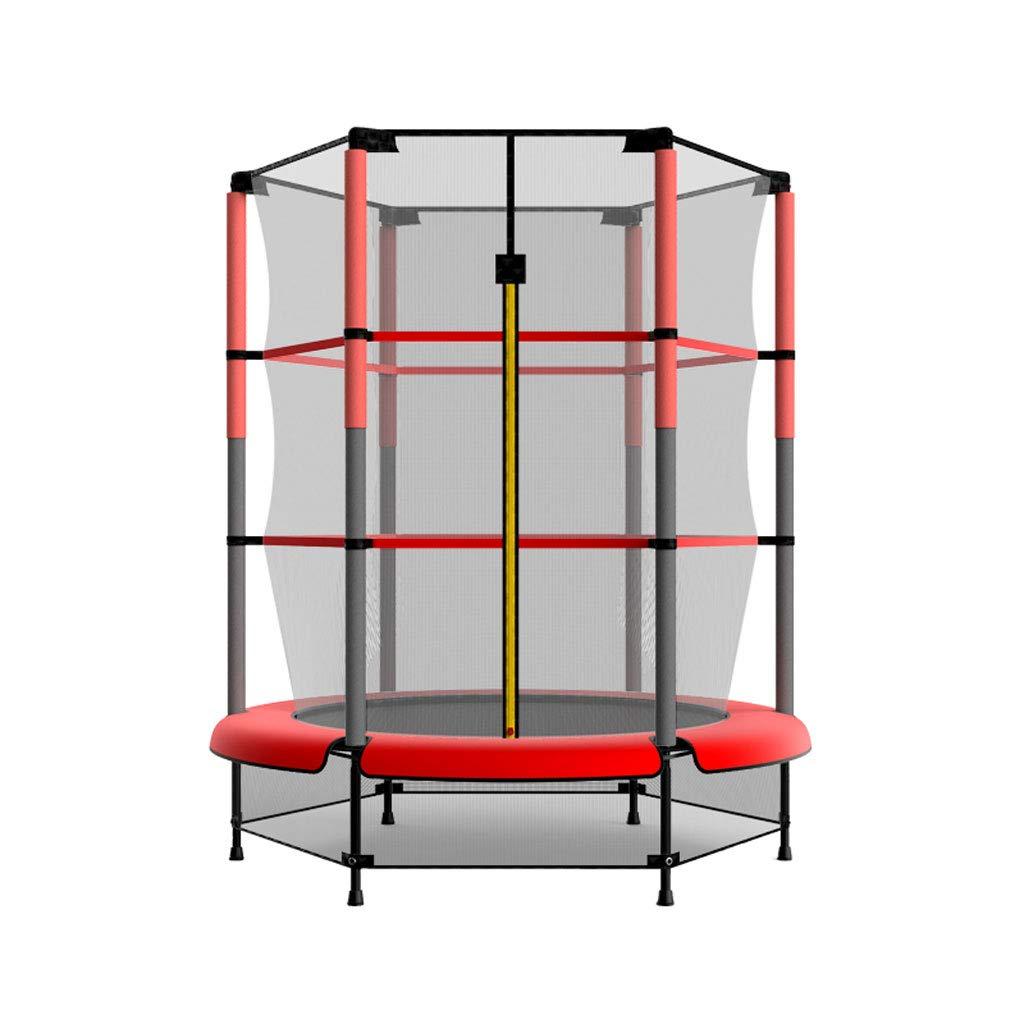 XUANLAN Indoor-Trampolin für Haushaltskinder mit Schutznetz Kindertrampolin