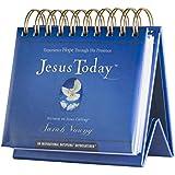DaySpring Sarah Young's Jesus Today, DayBrightener Perpetual Flip Calendar, 366 Days of Inspiration (51199)