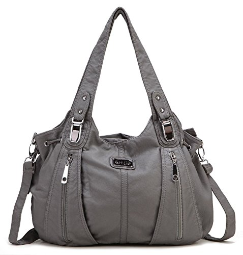 Scarleton Center Zip Shoulder Bag H147424 - (Zip Shoulder Satchel)