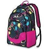 High Sierra Widget Backpack, Fuchsia Sunglasses/Pattern, 18.5x13x8-Inch