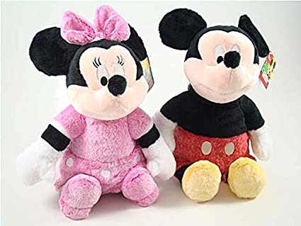 Peluche Mickey y Minnie 44 cm