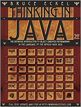 Book Thinking in Java (One-Off)
