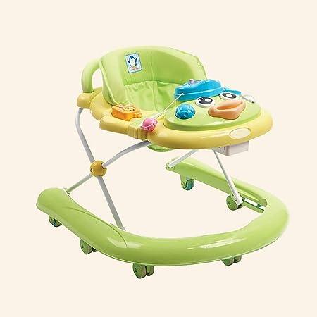 LFY Walk and Rock 2-en-1 Baby Walker Azul Andador para bebés ...
