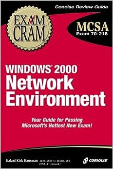Descargar Torrent Español Mcsa Windows 2000 Network Environment Exam Cram Epub Sin Registro