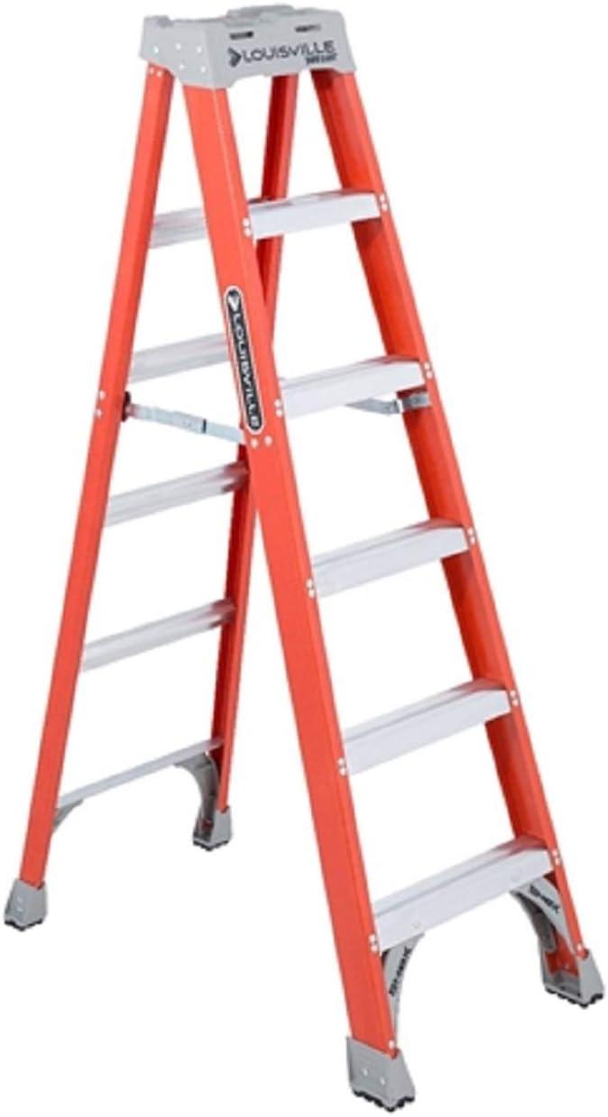 5. Louisville Ladder 6-Foot Fiberglass FS1506