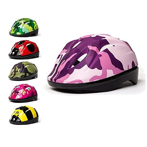 3StyleScooters-Kids-Cycle-Helmet-3-Sizes-6-Awesome-Designs-for-Cycling-Skating-Scooting-Adjustable-Headband-49cm-55cm-for-Kids-Aged-3-11-Years-Old
