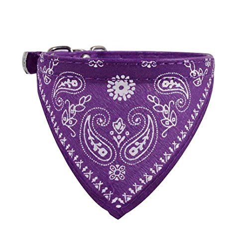 Puppy Scarf,Haoricu Adjustable Pet Dog Cat Bandana Neck Collar Neckerchief - Dog Designer Collars Nylon