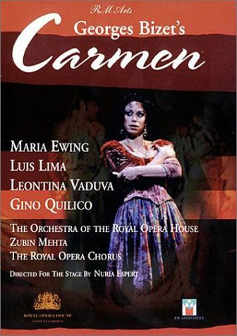 Georges Bizet - Carmen / Nuria Espert · Zubin Mehta - M. Ewing · L. Lima · L. Vaduva - ROH Covent (Pierre Ring)