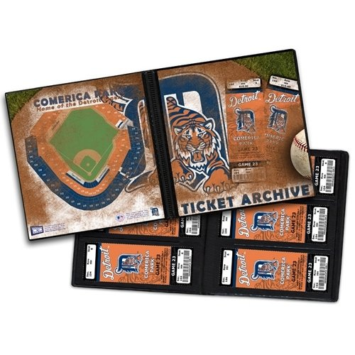 (Seattle Mariners Ticket Album, Holds 96 Tickets)