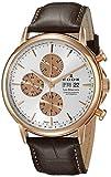 Edox Men's 01120 37R AIR Les Bemonts Analog Display Swiss Automatic Brown Watch