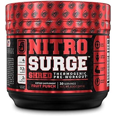 Nitrosurge Shred Pre Workout