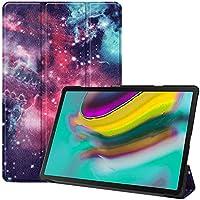 Junshion Tablet Funda para Samsung Galaxy Tab S5e 10.5 2019 T720 T725 Smart Funda de Piel magnética Cubierta