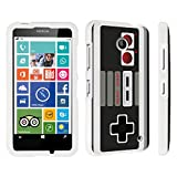 DuroCase Nokia Lumia 635 Hard Case White – (Game Controller) For Sale