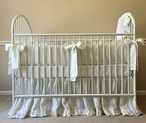 products organic baby cribs sheets grey kids palm nantucket barn for pottery bedding o crib nursery