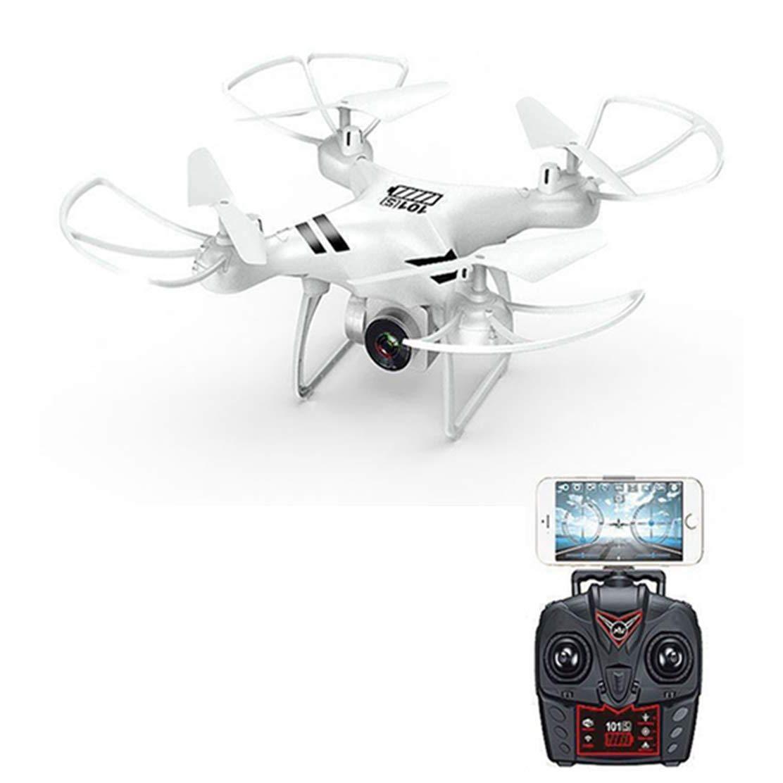 TOOGOO WiFi FPV Cámara Gran Angular 720P Selfie 3D Voltea Quadcopter FPV HD Altitud de La Cámara Quadcopter Drone\ Sin Cabeza Ky101S(Blanco, 500W)